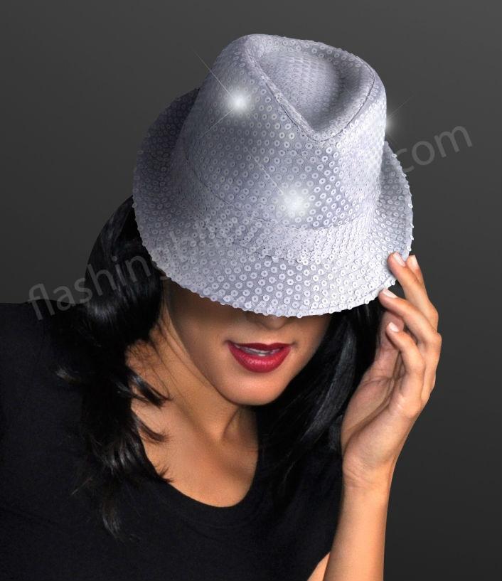 white_party_LED_fedora_hat
