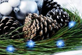 Easy Christmas Craft Idea: Make A Light Up Mistletoe Ball!
