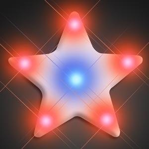 Light Up Turbo Star LED Pin