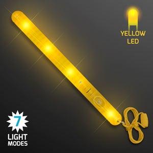 Light Up Yellow LED Patrol Wand
