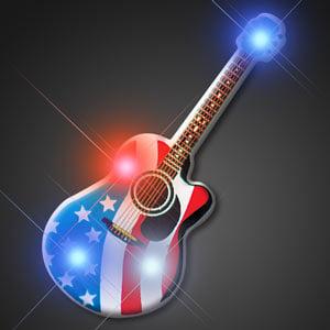 American Guitar Flashing Pin