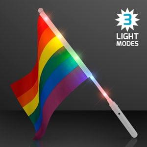 Light Up Rainbow Flag