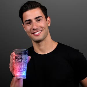 LED Light Up Patriotic Pint Cup