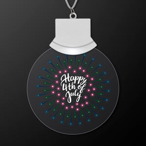Light Up 4th of July LED Necklace