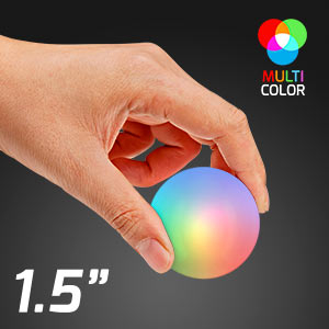 Multicolor Light Up Impact Activated LED Ball