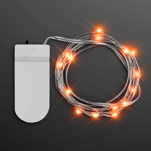 Orange Fairy String Lights for Crafting