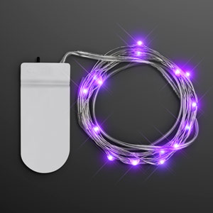 Purple Fairy String Lights for Crafting