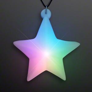 Light Up Star Deco LED Necklace