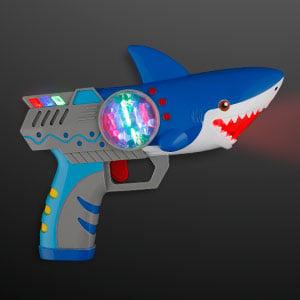 Light Up Shark Toy Gun