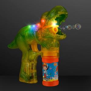 Light Up Dinosaur Bubble Gun