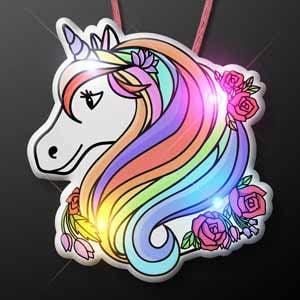 LED Unicorn Light Up Necklace