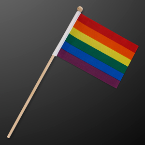 NON-Light Up Rainbow Pride Flag