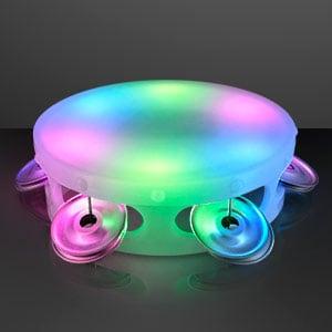 Light Up Mini Tambourine LED Toy