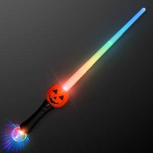 LED Pumpkin Toy Sword Expanding Saber