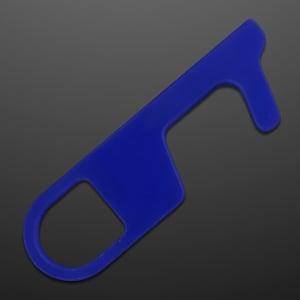 Blue No-Touch Door Opener Tool