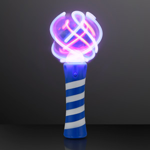 "8.9"" Cool Spin Light Up Wand Sensory Toy"