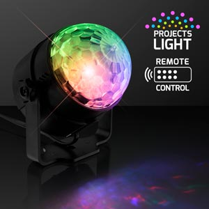 Ambient Light Projector, 7 LED Colors