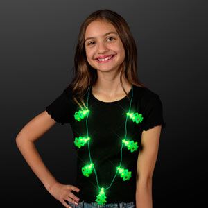 LED Christmas Trees String Light Necklace