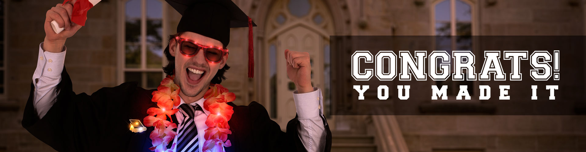 Graduation Day Promo Banner