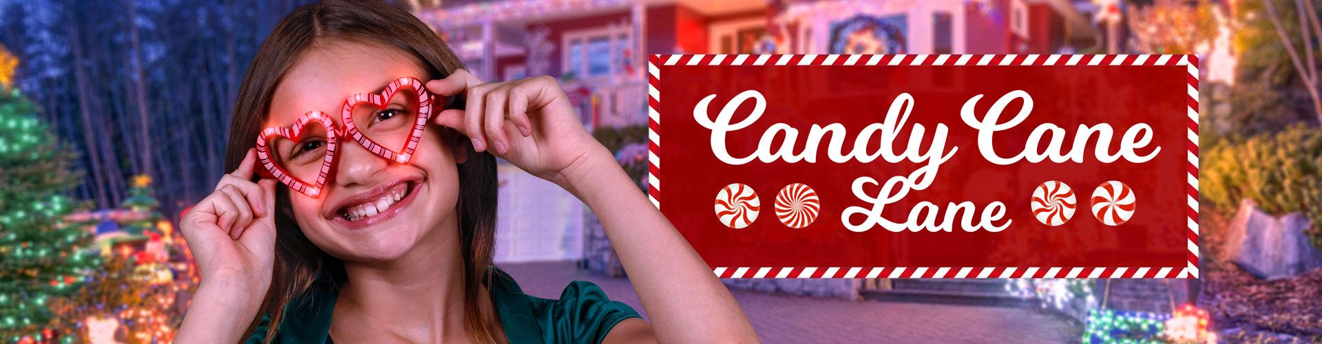 Candy Cane Lane Promo Banner