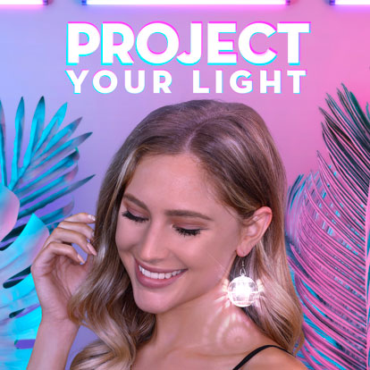 Light Projection Promo Banner