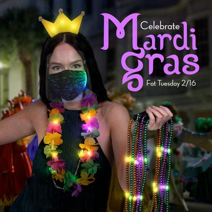 Mardi Gras Promo Banner