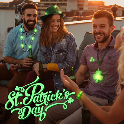 St. Patrick's Day Promo Banner