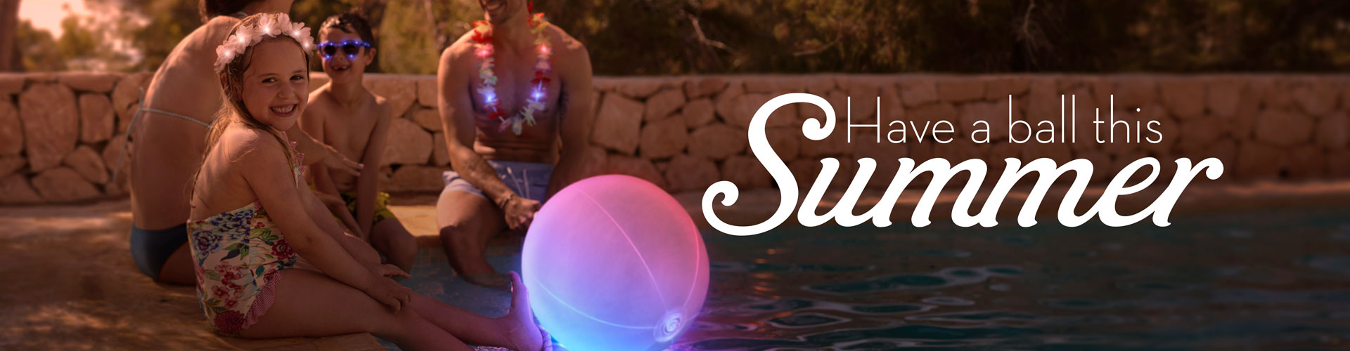 Summer Pool Hangout promotional banner