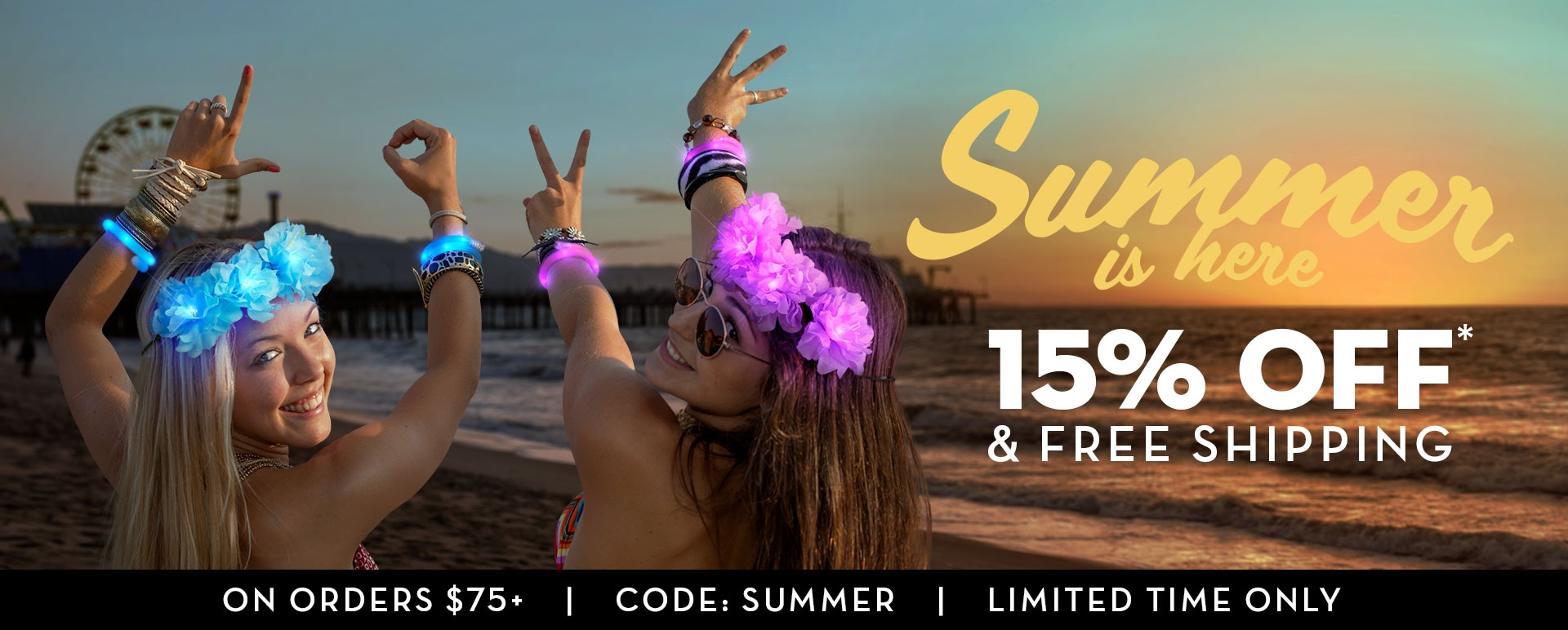 Summer Fun Sale 15% OFF