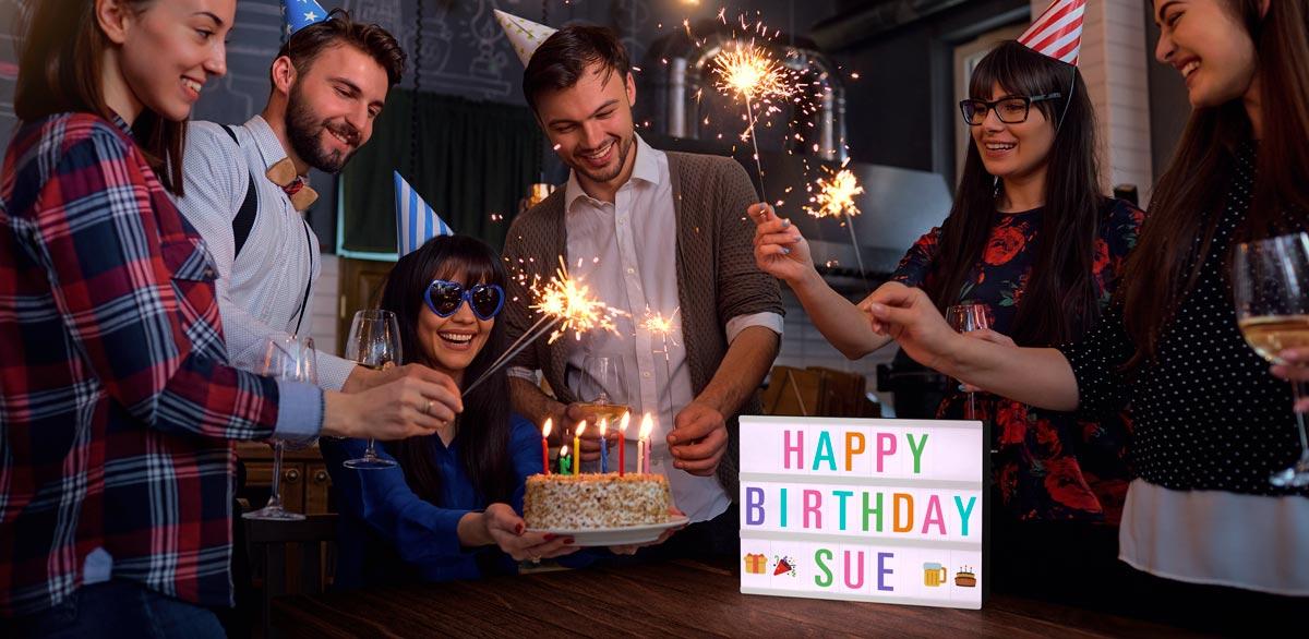Hospitality - Birthdays