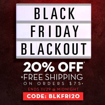 Black Friday promotional graphic banner