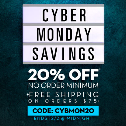 Cyber Monday promotional graphic banner