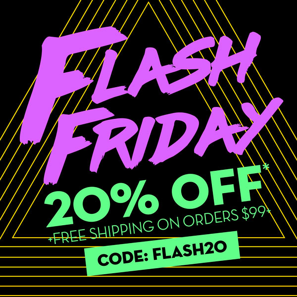 Flash Friday 1 day sale