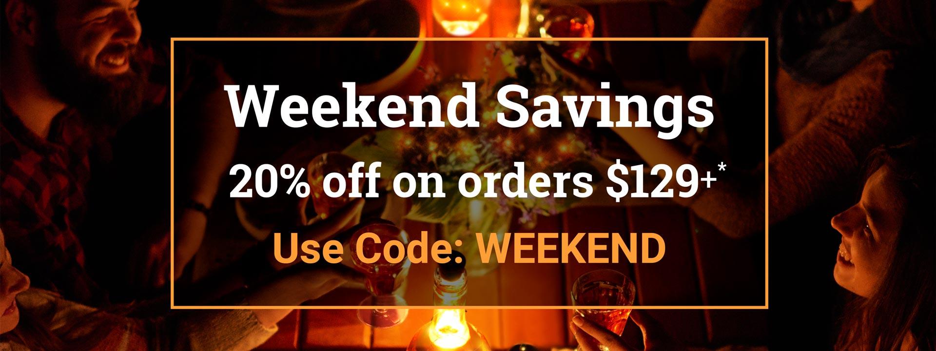 2 Days Weekend Sale Offer