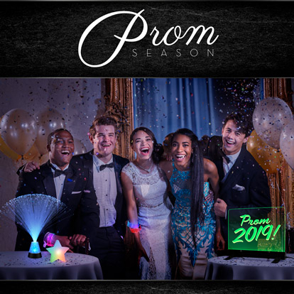 Prom Themed Promotional Offer