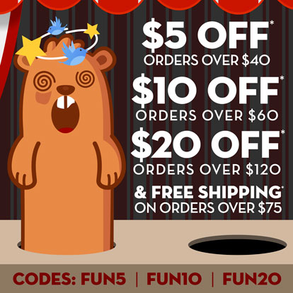 Carnival themed promotional offer
