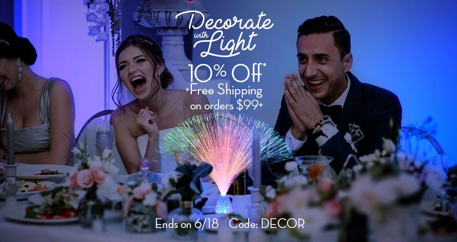 Get 10% Off LED Party Decorations & More