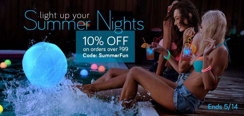 Summer fun at the pool party with up to 50% off our Pool Party Favors!